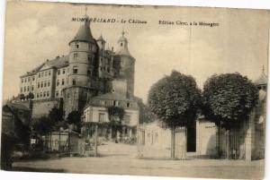 CPA MONTBÉLIARD - Le Chateau (183042)