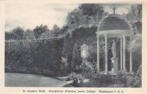 Washington DC Saint Josephs Walk Georgetown Visitation Junior College Albertype