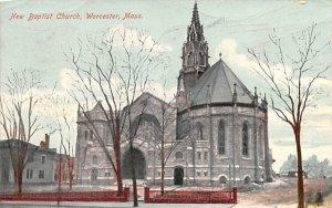 New Baptist Church in Worcester, Massachusetts