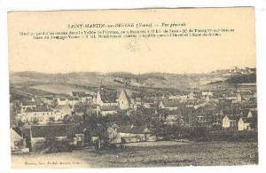 Saint-Martin-sur-Oreuse (Yonne) , France , 00-10s ; Vue generale