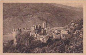 Germany Heidelberg Das Schloss von der Molkenkur gesehen