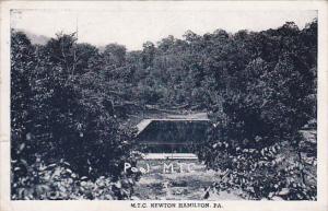 Swimming Pool, M.T.C. Newton Hamilton, Pennsylvania, PU-1940