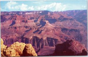 Fred Harvey Grand Canyon Arizona posted 1964 Smokey bear slogan cancel