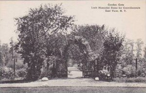 New York East View Garden Gate Loeb Memorial Home For Convalescents Albertype