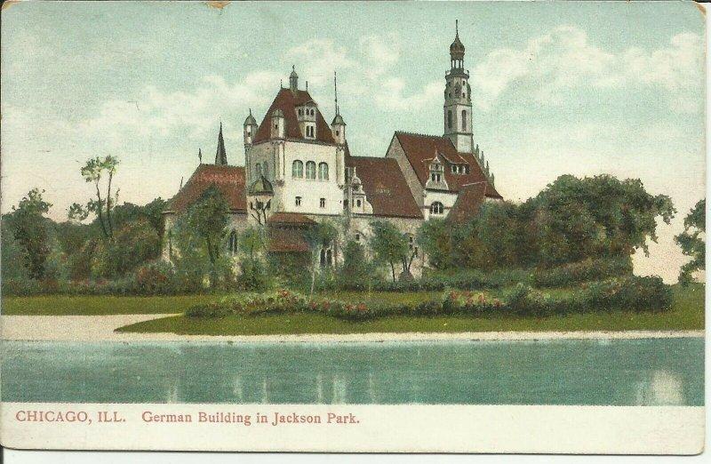 Chicago, Ill., German Building In Jackson Park