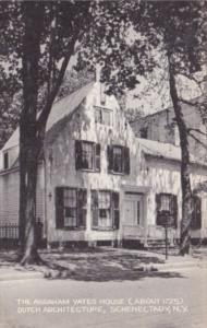 The Abraham Yates House Circa 1725 Dutch Architecture Schenectady New York Ar...