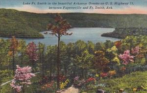 Arkansas Fort Smith Lake Fort Smith In The Beautiful Arkansas Ozarks On Us Hi...
