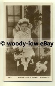r0025 - Princess Juliana of The Netherlands ( Holland ) - postcard