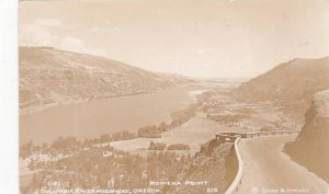 Oregon Rowena Point Columbia River Highway Real Photo
