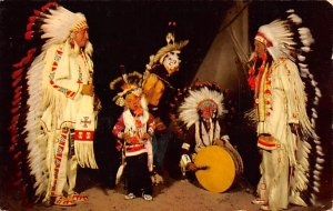Sioux War Dancers Unused