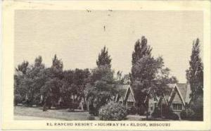 El Rancho Resort, Highway 54, Eldon, Missouri, PU-1950