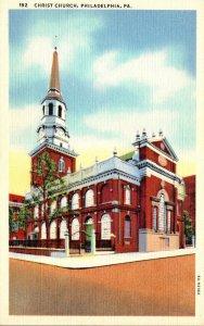 Pennsylvania Philadelphia Christ Church Curteich