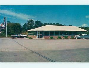 Unused Pre-1980 OLD CARS & NEVILLE'S FINER FOODS RESTAURANT Park City KY v7098