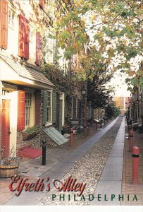 Elfreth's Alley Philadelphia Pennsylvania