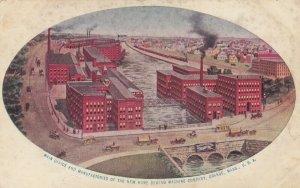 ORANGE , Massachusetts , 1900-10s ; Home Sewing Machine Company