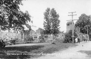 Granby Connecticut Old Newgate Prison Scenic View Real Photo Postcard JC932463
