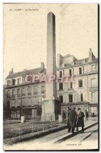 Old Postcard Caen La Pyramide