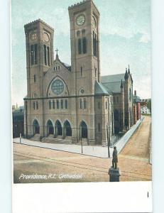 Pre-1907 CHURCH Providence Rhode Island RI A2514