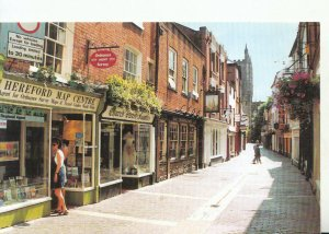 Herefordshire Postcard - Church Street and The Cathedral - Ref 18152A