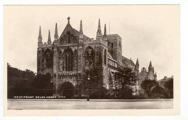 RP West Front, Selby Abbey, UK, 00-10s
