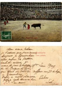 CPA Bullfighting - Suerte de Capa (776031)