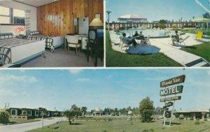 YULEE , Florida, 1950-60s ; Winnie Vee Motel & Restaurant