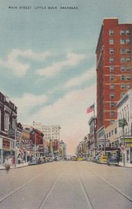 LITTLE ROCK , Arkansas , 30-40s ; Main Street