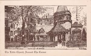 Little Church Around the Corner , New York City , 10-30s