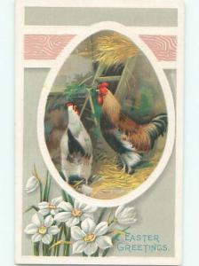 Divided-Back EASTER SCENE Great Postcard AA1444