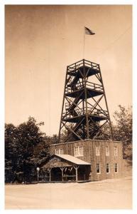 Massachusetts  Shelbourne ,  Summit Fire Tower  ,  RPC