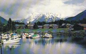 Alaska Sitka Sheldon Jackson College Campus Scene