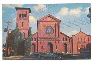 Exterior, St. Peter's Episcopal Church, Salisbury, Maryland, 40-60s