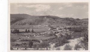 RP: OLIVER, British Columbia, Canada, PU-1952; Sawmills