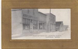 Part of Main St. Looking North, MACOUN, Saskatchewan, Canada, 1900-1910s