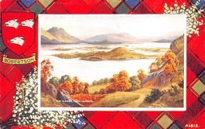 Scotland, UK Old Vintage Antique Post Card The Islands Loch Lomond Unused