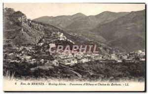 Old Postcard Around Meknes Moulay Idriss Panorama of & # 39Hibeur and castle ...
