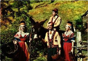 CPM Scenes Pyrenéennes Groupe Folk.Bethmalais FOLKLORE (753443)