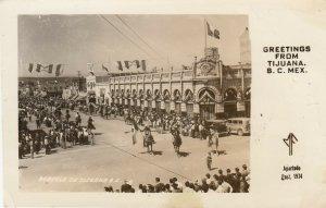 RP, TIJUANA , B.C. , Mexico, 1948 ; Parade