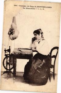 CPA Costume du Pays de MONTBÉLIARD - La Dianchotte (183100)