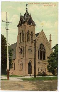 View Card - Brant Avenue Methodist Church Brantford Ont
