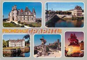 Modern Postcard Angouleme Area (Charente) Colors and Light of France Chateau ...
