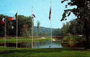 New York Tuxedo Sterling Forest Gardens Princess Lake From International Gardens