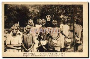 Old Postcard South Africa Auxiliary of & # 39apostolat Religious IMO Holy Fam...