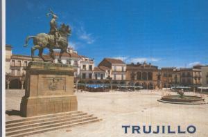 Postal 005363 : Plaza Mayor de Trujillo (Caceres)