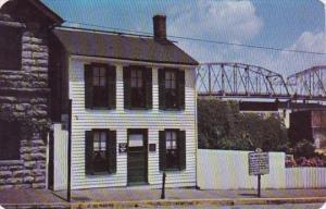The Mark Twain Boyhood Home In Hannibal Missouri