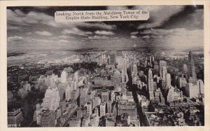 Looking North From The Matchless Tower Of The Empire State Building New York ...
