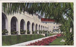 Florida Key West A Glimpse Of The Casa Marina