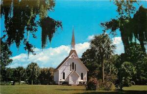 St Simons Island Georgia~Epworth by the Sea~Lovely Lane Methodist Chapel~1950s