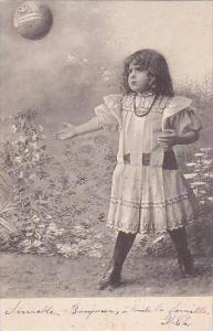 PFB Serie 3445 Young Girl with Ball