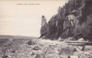 Maine Castine The Winona Cliff Albertype